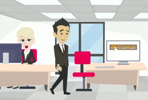 Video animato agenzia immobiliare