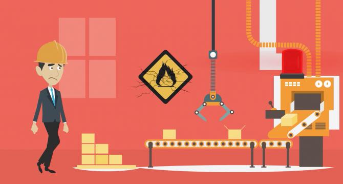 Video animato per software per impianti