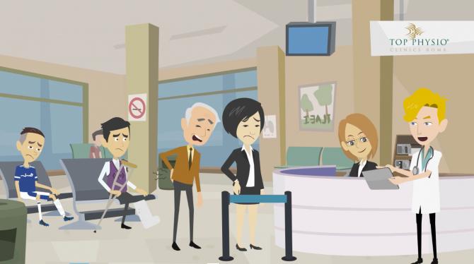 Video animato settore fisioterapia