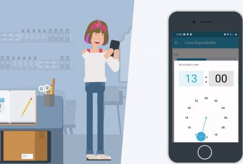 Video animato App Gaintime per appuntamenti
