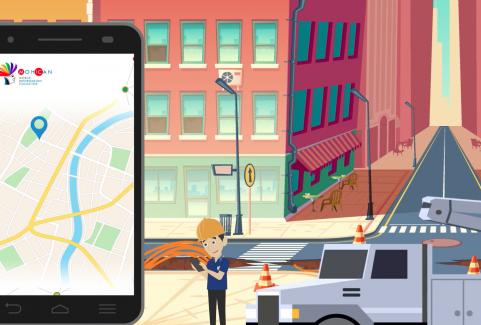 Video animato per promozione App Rextart