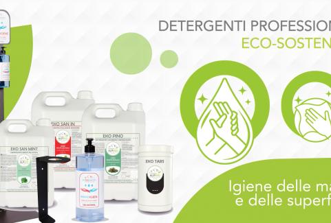 Video animato per promozione detergenti professionali