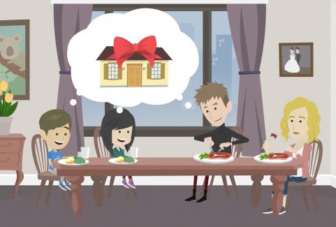 Video animato per servizio aste immobiliari