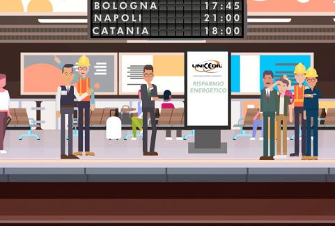 Video cartoon 2D per promozione associazione serramentisti