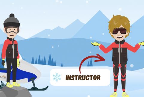 Video animato in lingua inglese per Team Adventure Madesimo